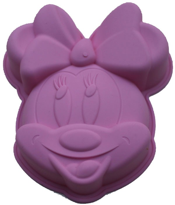 Backform Minnie Maus Silikon 14 Cm X 11 Cm X 3 Cm Prodemo Shop France